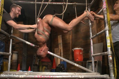 Photo number 10 from Obnoxious contruction worker gets what he deserved shot for Men On Edge on Kink.com. Featuring Brock Avery in hardcore BDSM & Fetish porn.
