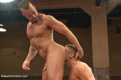 Photo number 11 from FIRST ELIMINATION MATCH OF OUR SUMMER SMACKDOWN TOURNAMENT!!! shot for Naked Kombat on Kink.com. Featuring Jessie Colter and Dirk Caber in hardcore BDSM & Fetish porn.