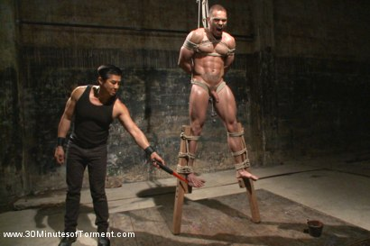 Photo number 7 from Muscled stud Brock Avery Tormented and Fucked shot for 30 Minutes of Torment on Kink.com. Featuring Brock Avery in hardcore BDSM & Fetish porn.