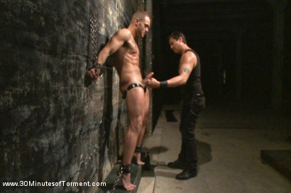 Photo number 4 from Muscled stud Brock Avery Tormented and Fucked shot for 30 Minutes of Torment on Kink.com. Featuring Brock Avery in hardcore BDSM & Fetish porn.