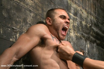 Photo number 5 from Muscled stud Brock Avery Tormented and Fucked shot for 30 Minutes of Torment on Kink.com. Featuring Brock Avery in hardcore BDSM & Fetish porn.