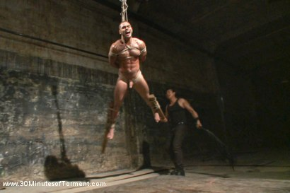 Photo number 10 from Muscled stud Brock Avery Tormented and Fucked shot for 30 Minutes of Torment on Kink.com. Featuring Brock Avery in hardcore BDSM & Fetish porn.