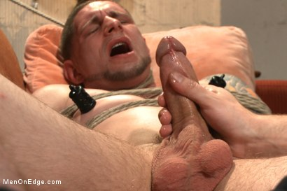 Photo number 5 from Straight Giant Cock! shot for Men On Edge on Kink.com. Featuring Jay Rising in hardcore BDSM & Fetish porn.