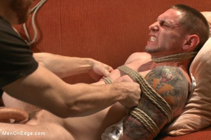 Photo number 6 from Straight Giant Cock! shot for Men On Edge on Kink.com. Featuring Jay Rising in hardcore BDSM & Fetish porn.