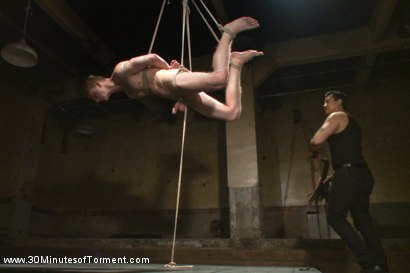 Photo number 8 from Branden Forrest and the excruciating ass station challenge shot for 30 Minutes of Torment on Kink.com. Featuring Branden Forrest in hardcore BDSM & Fetish porn.