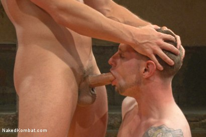 Photo number 11 from Naked Kombat's Summer Smackdown Tournament - Match 2  shot for Naked Kombat on Kink.com. Featuring Eli Hunter and Jay Rising in hardcore BDSM & Fetish porn.