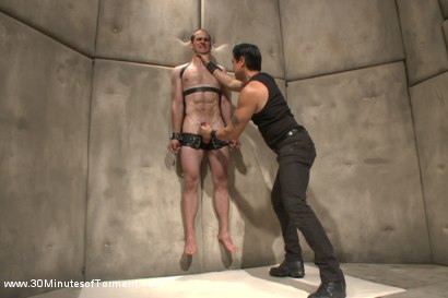 Photo number 13 from Straight stud John Smith gets beaten, choked and made to cum shot for 30 Minutes of Torment on Kink.com. Featuring Jonah Marx in hardcore BDSM & Fetish porn.