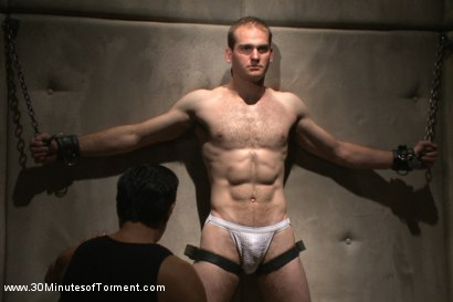Photo number 1 from Straight stud John Smith gets beaten, choked and made to cum shot for 30 Minutes of Torment on Kink.com. Featuring Jonah Marx in hardcore BDSM & Fetish porn.