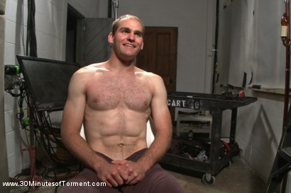 Photo number 15 from Straight stud John Smith gets beaten, choked and made to cum shot for 30 Minutes of Torment on Kink.com. Featuring Jonah Marx in hardcore BDSM & Fetish porn.
