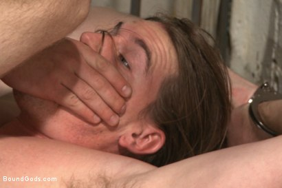 Photo number 10 from Officer Maguire and his new prison bitch shot for Bound Gods on Kink.com. Featuring Connor Maguire and Kip Johnson in hardcore BDSM & Fetish porn.
