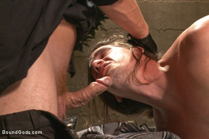 Photo number 4 from Officer Maguire and his new prison bitch shot for Bound Gods on Kink.com. Featuring Connor Maguire and Kip Johnson in hardcore BDSM & Fetish porn.