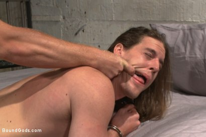 Photo number 8 from Officer Maguire and his new prison bitch shot for Bound Gods on Kink.com. Featuring Connor Maguire and Kip Johnson in hardcore BDSM & Fetish porn.