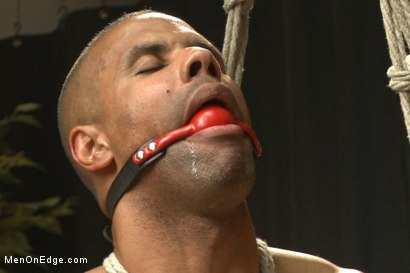 Photo number 10 from Muscle hunk gets a four hand massage with happy and unhappy endings shot for Men On Edge on Kink.com. Featuring Robert Axel in hardcore BDSM & Fetish porn.