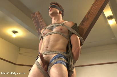 Photo number 7 from Edging Two Studs! shot for Men On Edge on Kink.com. Featuring Scott Cage and Corbin Dallas in hardcore BDSM & Fetish porn.