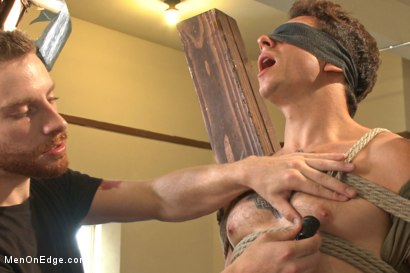 Photo number 9 from Edging Two Studs! shot for Men On Edge on Kink.com. Featuring Scott Cage and Corbin Dallas in hardcore BDSM & Fetish porn.