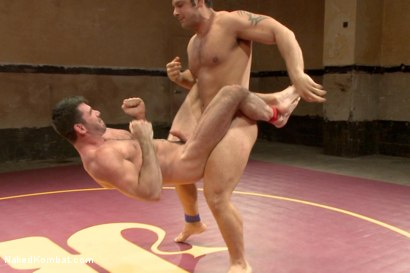 Photo number 9 from Naked Kombat's Summer Smackdown Tournament - Elimination Round 4 shot for Naked Kombat on Kink.com. Featuring Billy Santoro and Marcus Ruhl in hardcore BDSM & Fetish porn.