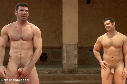 Photo number 15 from Naked Kombat's Summer Smackdown Tournament - Elimination Round 4 shot for Naked Kombat on Kink.com. Featuring Billy Santoro and Marcus Ruhl in hardcore BDSM & Fetish porn.