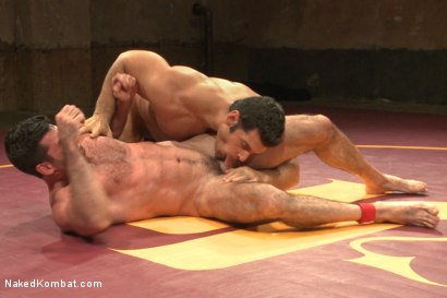 Photo number 6 from Naked Kombat's Summer Smackdown Tournament - Elimination Round 4 shot for Naked Kombat on Kink.com. Featuring Billy Santoro and Marcus Ruhl in hardcore BDSM & Fetish porn.