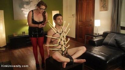 Photo number 4 from Rope Bondage for Objectification - with Nikki Nefarious shot for Kink University on Kink.com. Featuring Jay West, Daisy Ducati and Ms Nikki Nefarious in hardcore BDSM & Fetish porn.