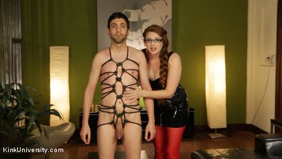 Photo number 6 from Rope Bondage for Objectification - with Nikki Nefarious shot for Kink University on Kink.com. Featuring Jay West, Daisy Ducati and Ms Nikki Nefarious in hardcore BDSM & Fetish porn.