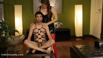 Photo number 7 from Rope Bondage for Objectification - with Nikki Nefarious shot for Kink University on Kink.com. Featuring Jay West, Daisy Ducati and Ms Nikki Nefarious in hardcore BDSM & Fetish porn.