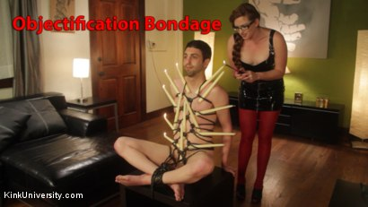Rope Bondage for Objectification - with Nikki Nefarious