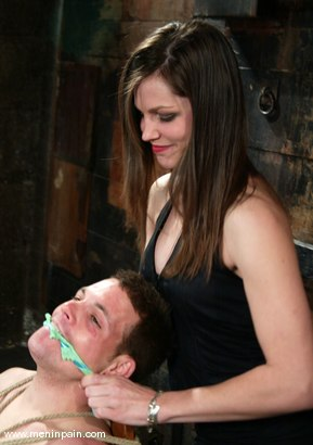 Photo number 4 from Jason Bays and Bobbi Starr shot for Men In Pain on Kink.com. Featuring Bobbi Starr and Jason Bays in hardcore BDSM & Fetish porn.