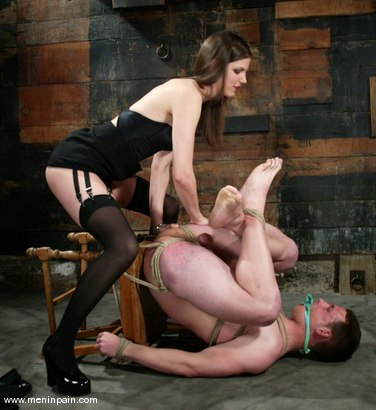Extreme femdom men in pain