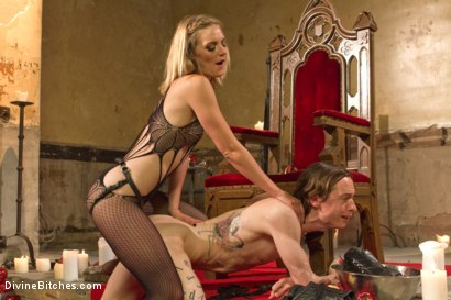 Photo number 9 from Forbidden Fruit: A Femdom Sounding Ritual  shot for Divine Bitches on Kink.com. Featuring Mona Wales and Owen Gray in hardcore BDSM & Fetish porn.