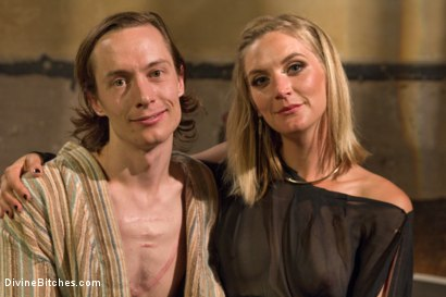 Photo number 8 from Forbidden Fruit: A Femdom Sounding Ritual  shot for Divine Bitches on Kink.com. Featuring Mona Wales and Owen Gray in hardcore BDSM & Fetish porn.