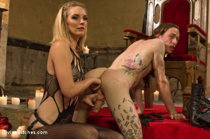 Photo number 14 from Forbidden Fruit: A Femdom Sounding Ritual  shot for Divine Bitches on Kink.com. Featuring Mona Wales and Owen Gray in hardcore BDSM & Fetish porn.