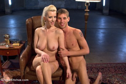 Photo number 9 from Only A Woman Is Strong Enough To Control This Young Cock shot for Divine Bitches on Kink.com. Featuring Cherry Torn and Sam Truitt in hardcore BDSM & Fetish porn.