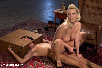 Photo number 10 from Only A Woman Is Strong Enough To Control This Young Cock shot for Divine Bitches on Kink.com. Featuring Cherry Torn and Sam Truitt in hardcore BDSM & Fetish porn.