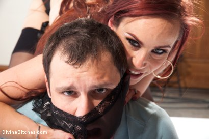 Photo number 11 from Suck my feet cuck husband while this stud fucks me! shot for Divine Bitches on Kink.com. Featuring Bella Rossi, Wolf Hudson and Marcelo in hardcore BDSM & Fetish porn.