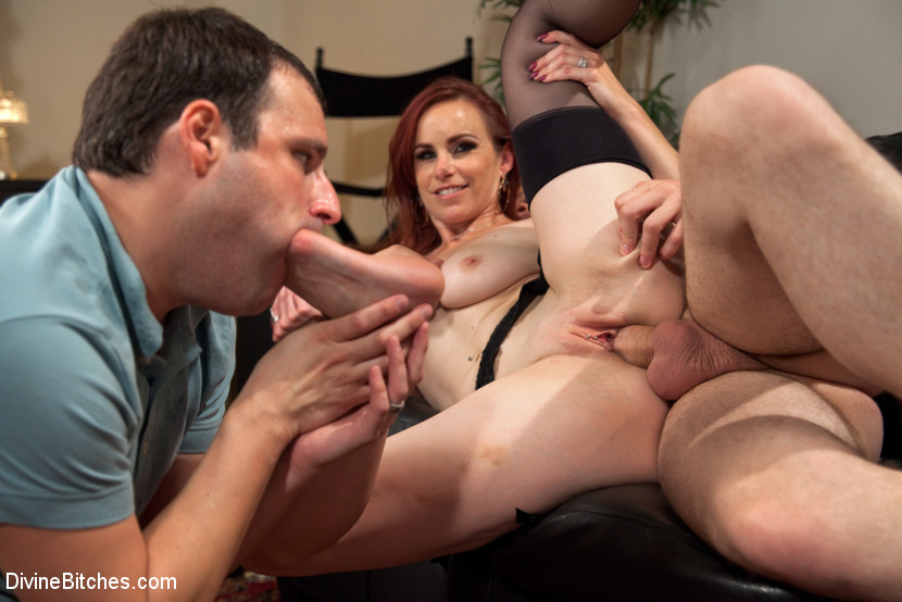 Red tube party mom orgy