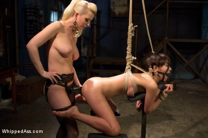 Photo number 9 from  shot for Whipped Ass on Kink.com. Featuring Marica Hase and Cherry Torn in hardcore BDSM & Fetish porn.