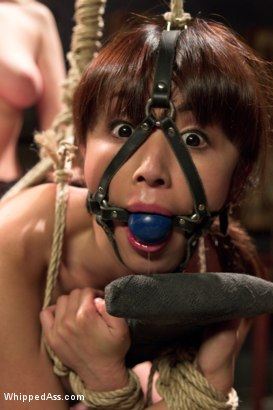Photo number 15 from  shot for Whipped Ass on Kink.com. Featuring Marica Hase and Cherry Torn in hardcore BDSM & Fetish porn.