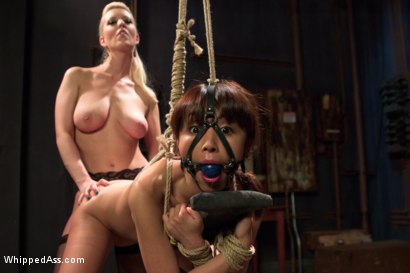 Photo number 3 from  shot for Whipped Ass on Kink.com. Featuring Marica Hase and Cherry Torn in hardcore BDSM & Fetish porn.