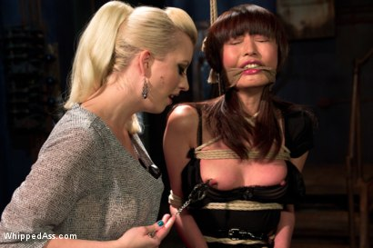 Photo number 6 from  shot for Whipped Ass on Kink.com. Featuring Marica Hase and Cherry Torn in hardcore BDSM & Fetish porn.