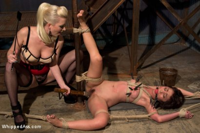Photo number 7 from Massage Parlor Revenge: Marica is Punished for Servicing Cherry's Man shot for Whipped Ass on Kink.com. Featuring Marica Hase and Cherry Torn in hardcore BDSM & Fetish porn.