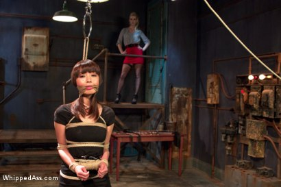 Photo number 4 from  shot for Whipped Ass on Kink.com. Featuring Marica Hase and Cherry Torn in hardcore BDSM & Fetish porn.
