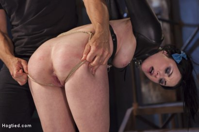 Photo number 10 from Molested Puppet shot for Hogtied on Kink.com. Featuring Veruca James in hardcore BDSM & Fetish porn.