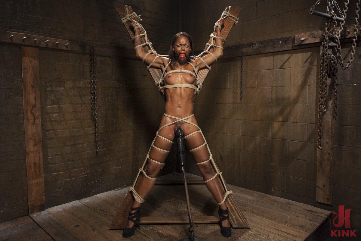 Dahlia suffers in extreme bondage 4