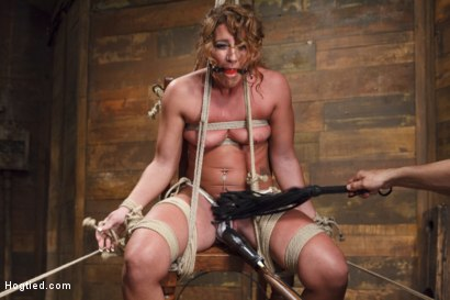Photo number 4 from Insatiable Fuck Slut Gets the Hydra Vibe shot for Hogtied on Kink.com. Featuring Savannah Fox in hardcore BDSM & Fetish porn.
