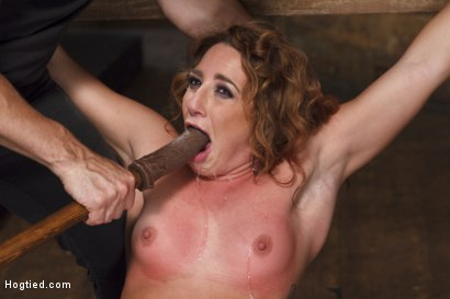 Photo number 7 from Insatiable Fuck Slut Gets the Hydra Vibe shot for Hogtied on Kink.com. Featuring Savannah Fox in hardcore BDSM & Fetish porn.