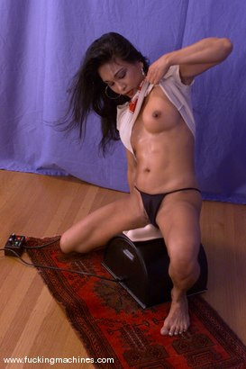 Photo number 2 from Tina Toy shot for Fucking Machines on Kink.com. Featuring Tina Toy in hardcore BDSM & Fetish porn.
