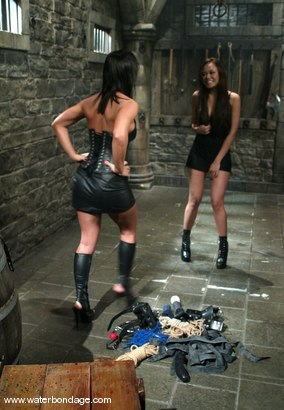 Photo number 1 from Sandra Romain and Annie Cruz shot for Water Bondage on Kink.com. Featuring Sandra Romain and Annie Cruz in hardcore BDSM & Fetish porn.