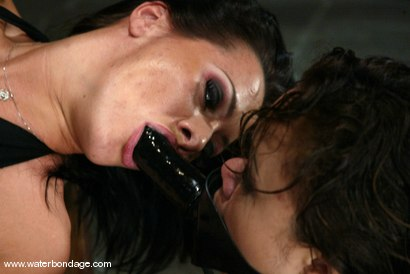 Photo number 11 from Sandra Romain and Annie Cruz shot for Water Bondage on Kink.com. Featuring Sandra Romain and Annie Cruz in hardcore BDSM & Fetish porn.