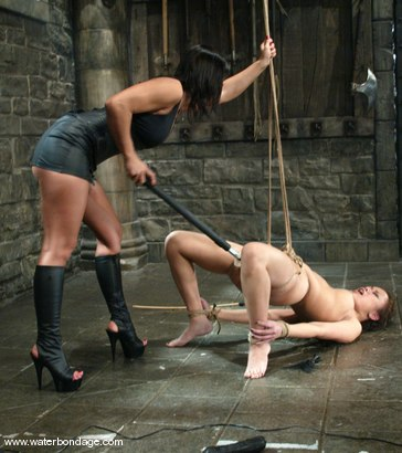 Photo number 7 from Sandra Romain and Annie Cruz shot for Water Bondage on Kink.com. Featuring Sandra Romain and Annie Cruz in hardcore BDSM & Fetish porn.