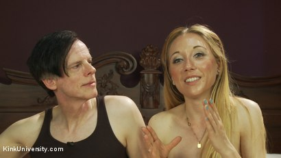 "Photo number 24 from Anal Sex 101: How to ""Get Them to the Greek"" shot for Kink University on Kink.com. Featuring Danarama and Emma Haize in hardcore BDSM & Fetish porn."